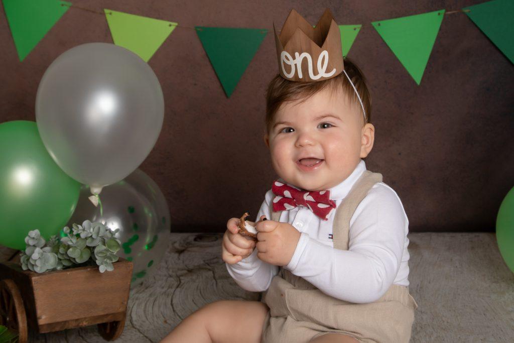 Séance photo-1ans-anniversaire-rire-vitré-garçon