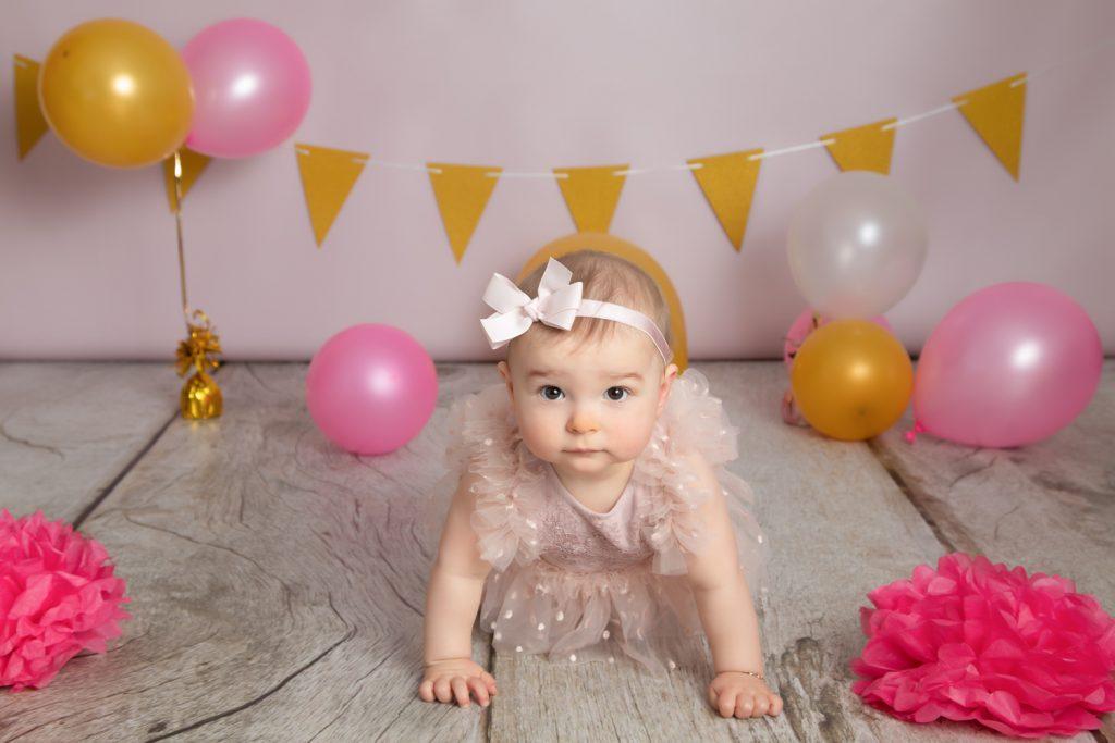 anniversaire fille seance smash-the-cake