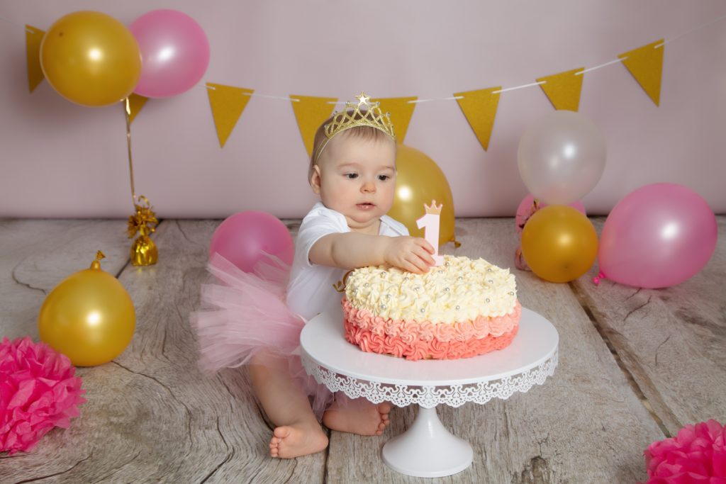 anniversaire fille seance smash-the-cake-1ans