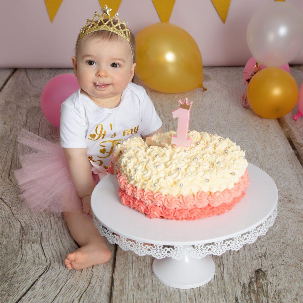 Gâteau anniversaire Divonne les bains 1 an photo