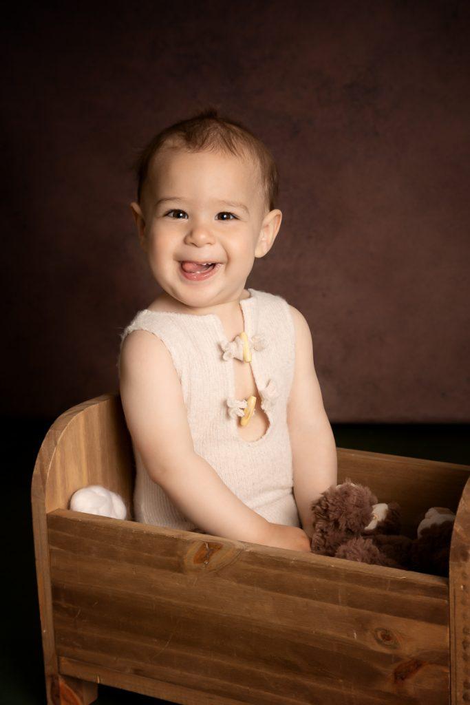 bébé photographe en studio à Etrelles entre Rennes et Laval