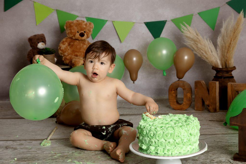 enfant-smash the cake-photographe bébé-Rennes-0001